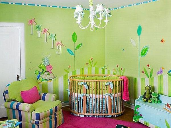دیزاین اتاق نوزاد چند نکته مهم دکوراسیون اتاق نوزاد