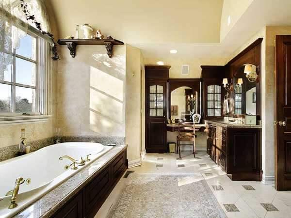 مدل حمامهای جدید نصب جالباسی و جا حولهبسیار شیک و زیبا