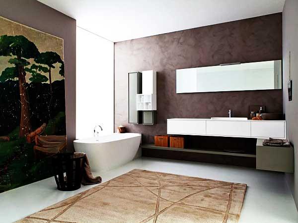 دکوراسیون حمام طراحی دکوراسیون حمام به شیوه مدرن
