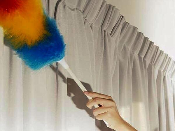 تمیز کردن پردهها در منزل