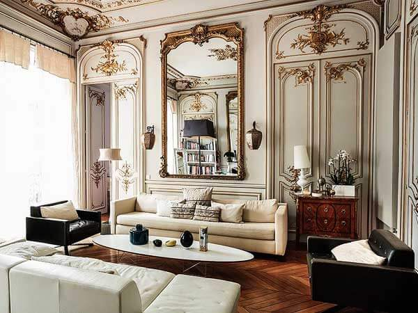 طراحی داخلی ساختمان به سبک کلاسیک