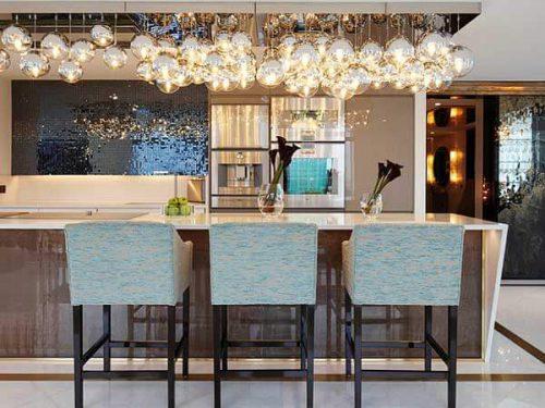 طراحی داخلی میزناهار خوری آشپزخانه
