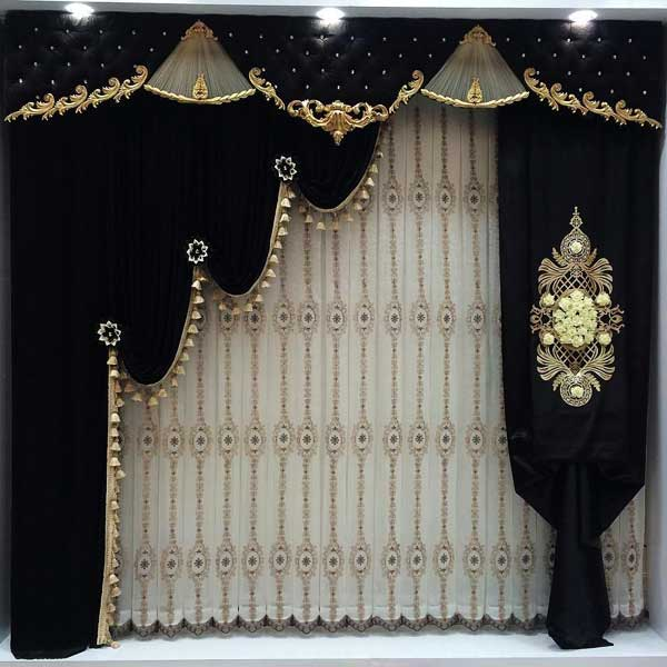 پردههای سلطنتی زیبا