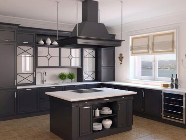 مدلهای مختلف اپن آشپزخانه