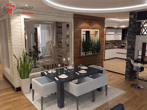 قیمت طراحی داخلی ساختمان
