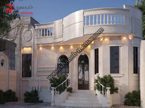 خانه یک طبقه ویلایی