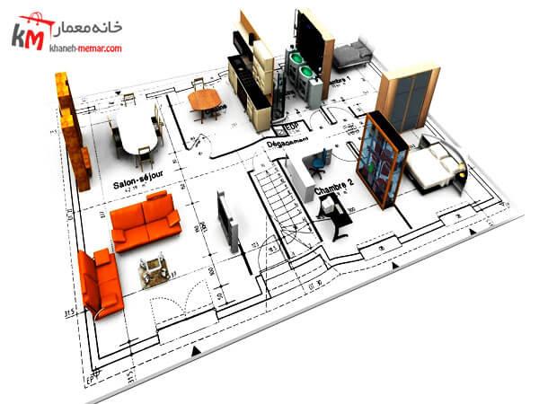 هزینه نقشه کشی ساختمان 99