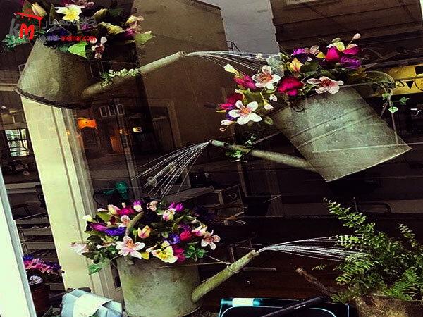 ویترین جذاب، شیک و خاص گل فروشی