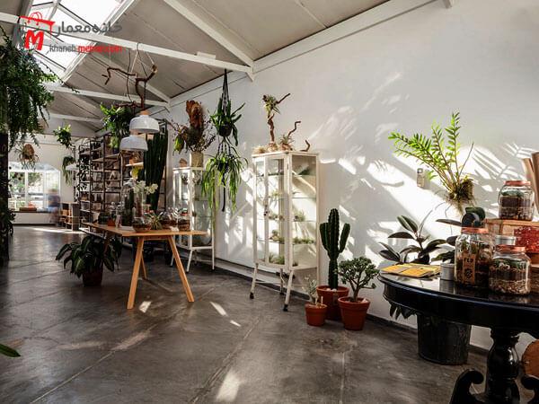 طراحی فضای گلفروشی