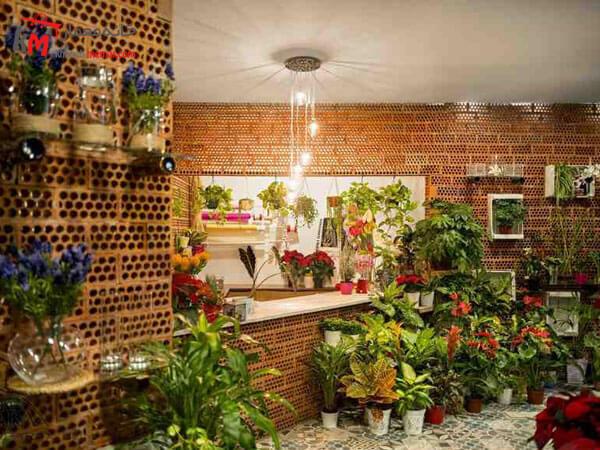 ایده های زیبای طراحی گل فروشی