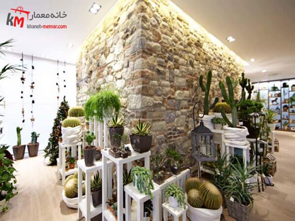 نقش خلاقیت در طراحی داخلی گل فروشی و گلخانه