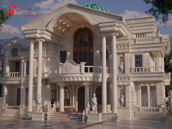 نمای بیرونی ساختمان معماری خارجی