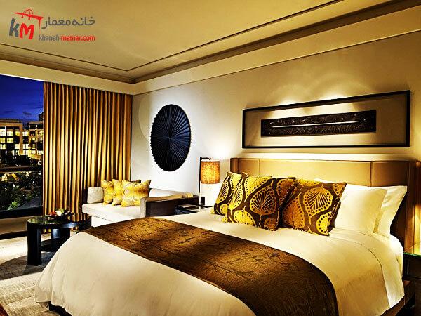قیمت اجرای طراحی داخلی اتاق های هتل