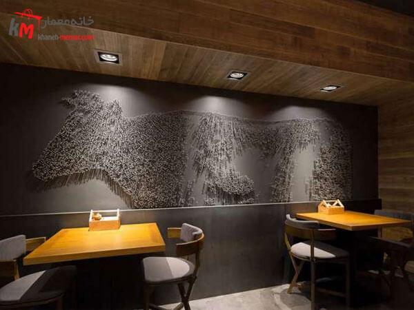 مدت زمانی که به اجرای طراحی داخلی رستوران اختصاص داده می شود