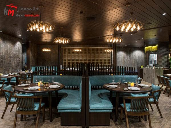 طراحی داخلی رستوران انتخاب سبک دکوراسیون داخلی رستوران