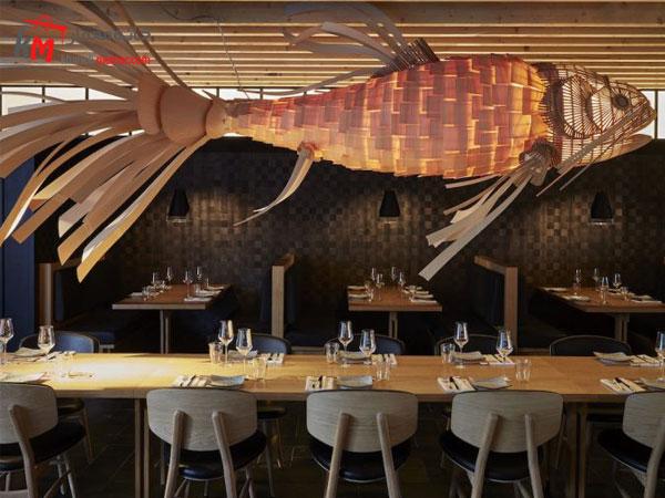 طراحی بر اساس نوع رستوران و بر اساس سبک رستوران