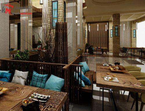 ایده های جذاب طراحی دکوراسیون داخلی رستوران