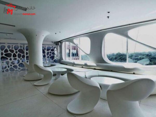 طراحی داخلی رستوران به سبک مدرن باکلاس و بروز