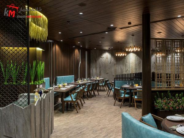 نور کافی در طراحی دکور رستوران نور کافی در طراحی دکوراسیون داخلی رستوران