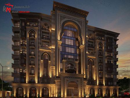 نورپردازی نما ساختمان