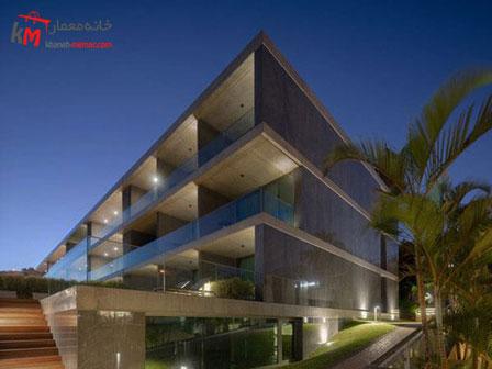 نورپرداری نما ساختمان