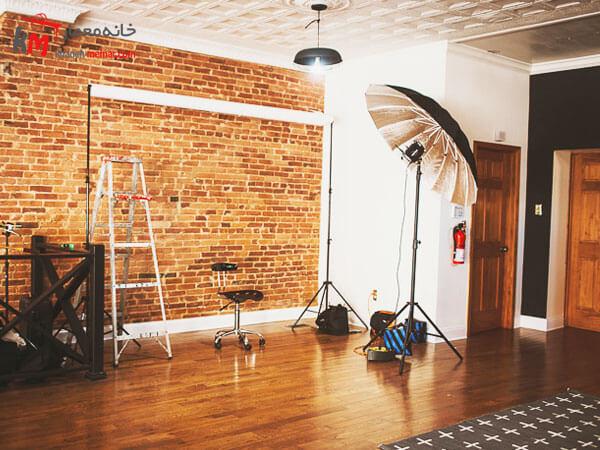 تزیین دیوار آتلیه عکاسی تزیین دیوارها و تاثیر آن بر دکور آتلیه عکاسی