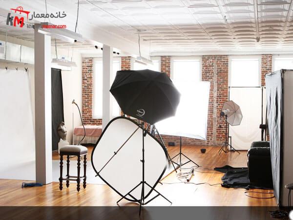 نورپردازی آتلیه عکاسی بسیار مهم و ضروری است