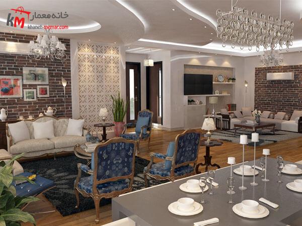 دکور داخلی ساختمان به سبک ایرانی نکات طراحی دکوراسیون داخلی پذیرایی ایرانی