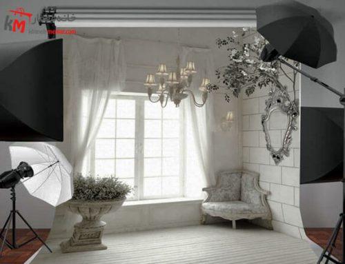 طراحی دکوراسیون داخلی آتلیه عکاسی