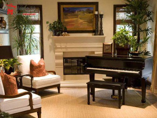 پیانو در دکوراسیون پیانو یک عامل فضا پر کن در دکوراسیون