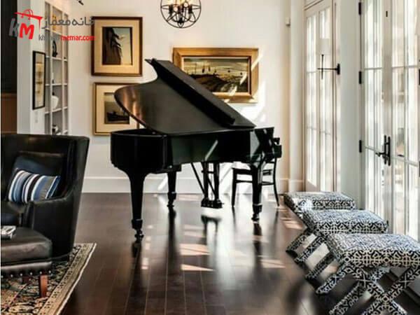 پیانو عامل منعکس کننده نور پیانو عامل منعکس کننده نور