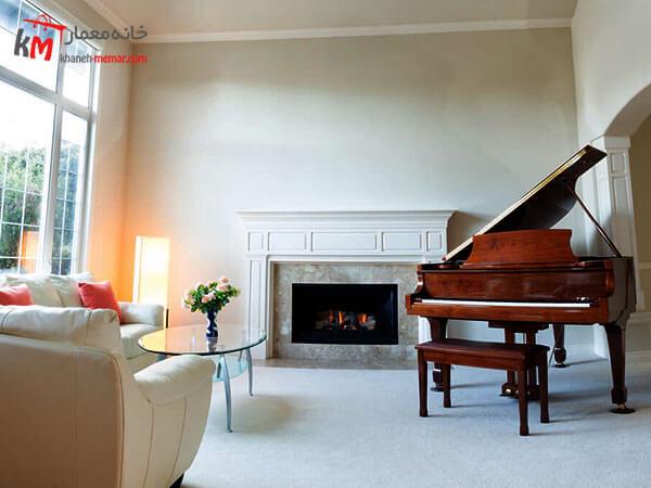 استفاده از پیانو در دکوراسیون