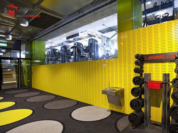 طراحی آرامش بخش در دکور داخلی باشگاه ایجاد فضای آرامش بخش در طراحی داخلی باشگاه