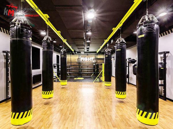 رعایت فاصله مناسب بین تجهیزات در باشگاه جایگذاری مناسب دستگاه ها