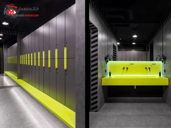 دکوراسیون باشگاه ورزشی آشنایی با نکات مهم جهت طراحی داخلی باشگاه ورزشی