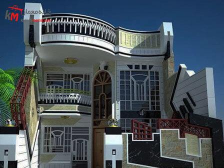 نمای ساختمان با استفاده از سرامیک به سبک نئوکلاسیک نکات استفاده از نمای سرامیک در نمای بیرونی ساختمان