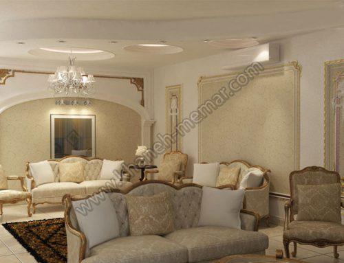 طراحی دکوراسیون خانه به سبک کلاسیک