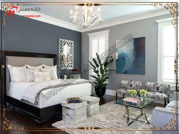 چراغهای شیک برای اتاق خواب