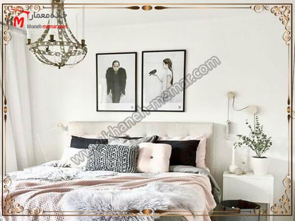 لوسترهای زیبا و شیک برای اتاق خواب