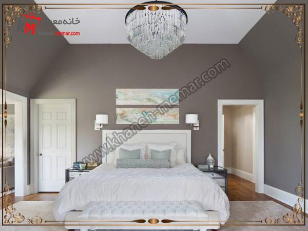 انواع لوستر زیبا برای اتاق خواب