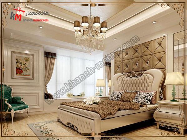 چراغهای لوکس برای اتاق خواب