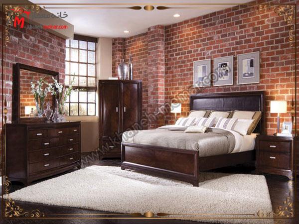 دکور زیبای اجری برای اتاق خواب کاغذ دیواری اتاق خواب بزرگسال
