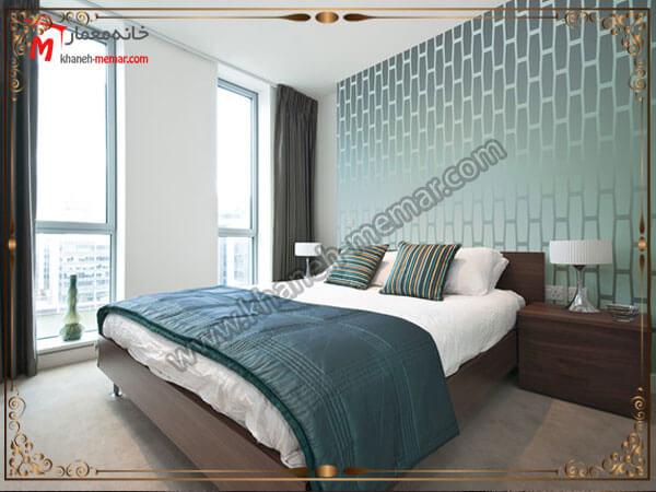 مدل شلوغ برای طرح تزیینی اتاق مدل های شیک و منحصر به فرد کاغذ دیواری اتاق خواب