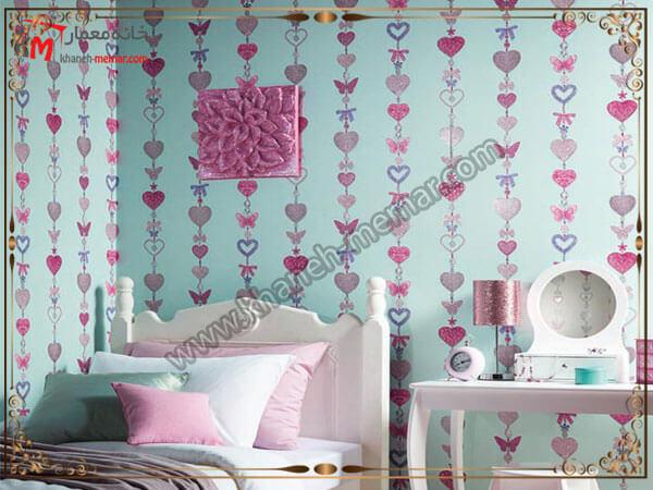 تزیین اتاق خواب کودک با کاغذ دیواری کاغذ دیواری اتاق خواب کودک