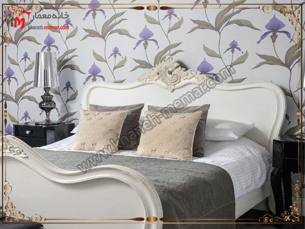 مدل زیبای گل برای کاغذ تزیینی دیوار انتخاب رنگ کاغذ دیواری اتاق خواب