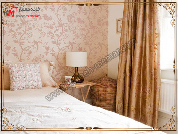 انتخاب رنگ زیبا برای کاغذ تزیینی اتاق خواب کاغذ دیواری اتاق خواب بزرگسال