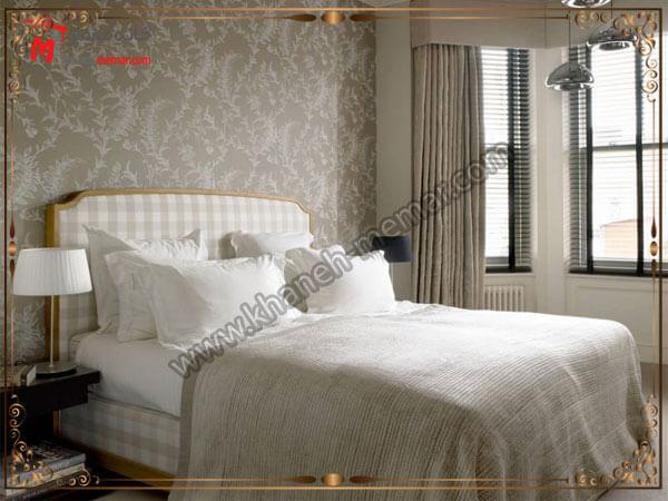 انتخاب رنگ کاغذ دیواری اتاق خواب کاغذ دیواری اتاق خواب بزرگسال