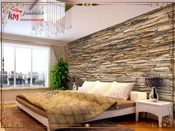 طرح زیبای کاغذ برای دیوار اتاق خواب کاغذ دیواری اتاق خواب بزرگسال