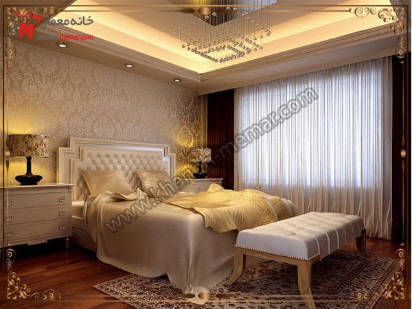 کاغذ دیواری مدل شیک و زیبای تزییین اتاق خواب