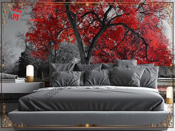 مدل های رویایی کاغذ دیواری اتاق خواب